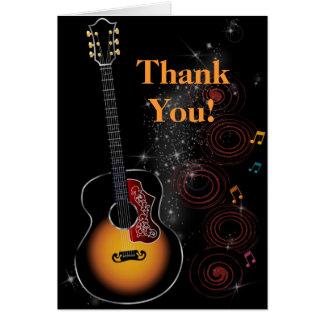 Rock Star - Dankkarte Greeting Card