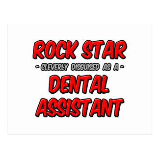 Rock Star ... Dental Assistant Postcards