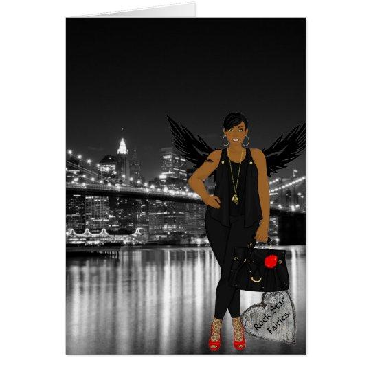 Rock Star Fairies - Blank Card