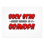 Rock Star...Grandpa Custom Invites