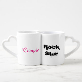 Rock Star & Groupie - Coffee Mug Set