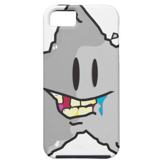 Rock star illustration pun case for the iPhone 5