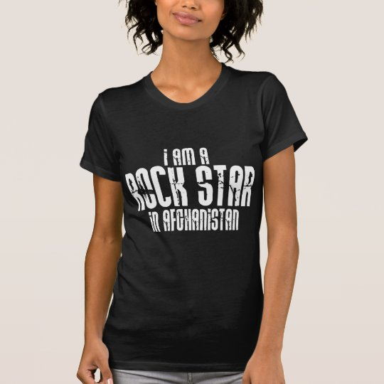 Rock Star In Afghanistan T-Shirt