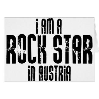Rock Star In Austria Card