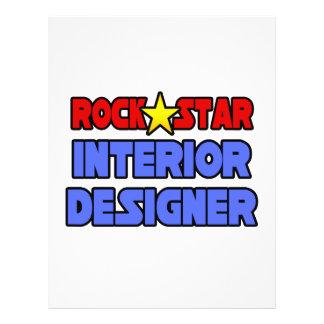 Rock Star Interior Designer 21.5 Cm X 28 Cm Flyer