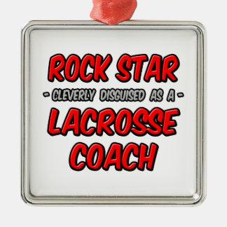 Rock Star ... Lacrosse Coach Ornament
