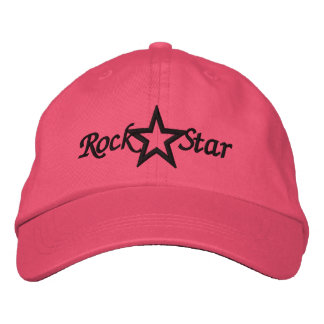 Rock Star Ladies Embroidered Hat