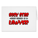 Rock Star...Lawyer Cards