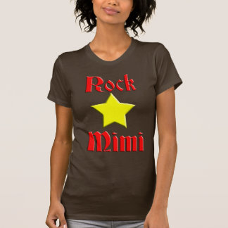 Rock Star Mimi for Dark Color T-Shirt
