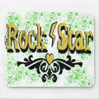 Rock Star Mouse Pad