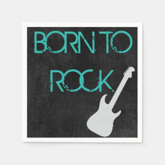 Rock Star Napkins Disposable Napkin