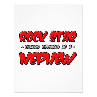 Rock Star Nephew Flyers