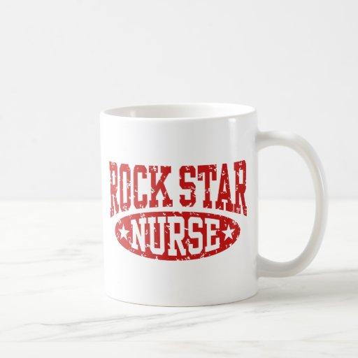Rock Star Nurse Mugs