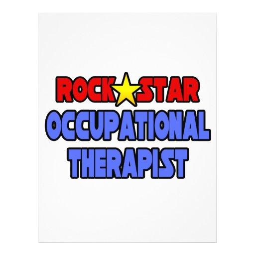 Rock Star Occupational Therapist Flyer