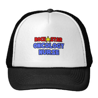 Rock Star Oncology Nurse Hats