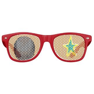 ROCK STAR party shade sunglasses sagaram zazzle