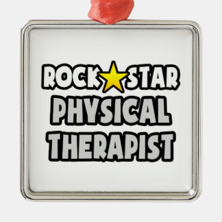 Rock Star Physical Therapist Christmas Ornament