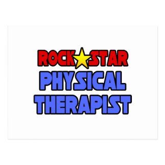 Rock Star Physical Therapist Postcard