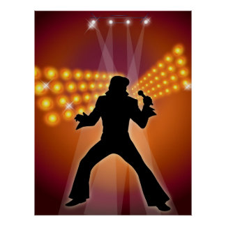 Rock Star - Pop Singer Poster
