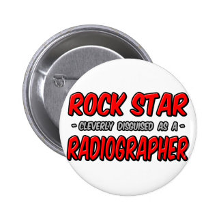 Rock Star Radiographer Button