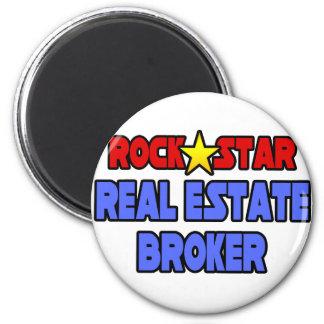 Rock Star Real Estate Broker Magnet