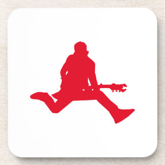 Rock Star Red Drink Coasters