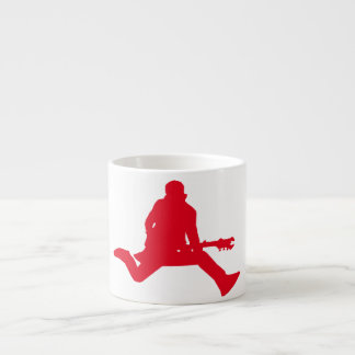Rock Star Red Espresso Cup
