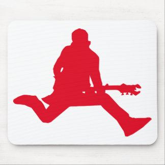 Rock Star Red Mousepad