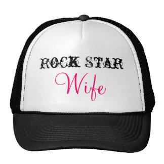 Rock Star, Wife Trucker Hats