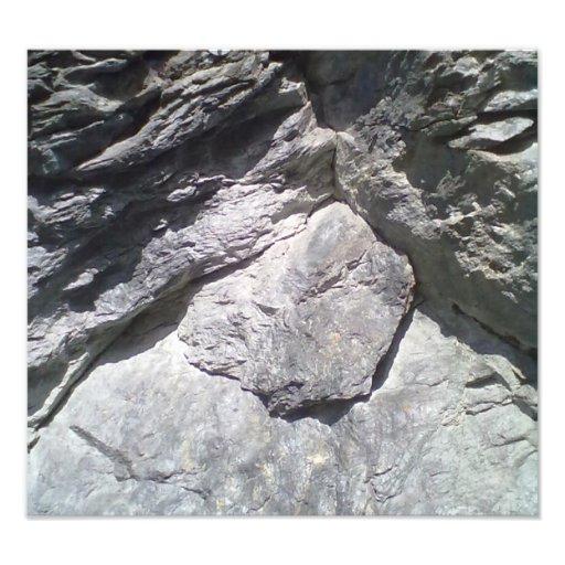 Rock & Stone Photographic Print