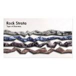 Rock Strata 03 - Pearl Business Card