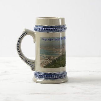 Rock Summit of Gibraltar Beer Stein