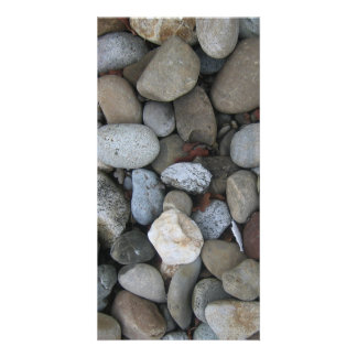 Rock Texture Template Picture Card