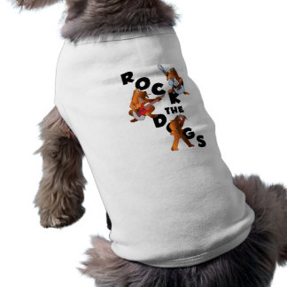 Rock The Dogs Dog Tee