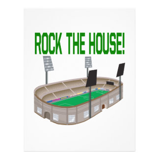 Rock The House Flyer