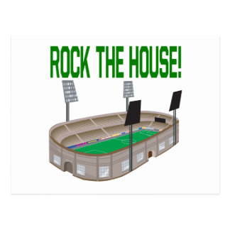 Rock The House Postcard