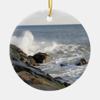 Rock View Christmas Ornament