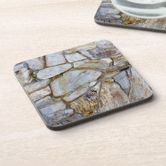 Rock Wall Texture Photo on Coasters