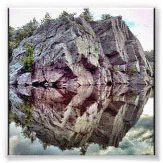 Rock Water Photo Print