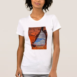 Rock window to Monument Valley, AZ T-Shirt
