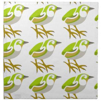 Rock Wren, South Island, NZ bird Printed Napkin