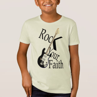 Rock Your Faith-Guitar T-Shirt