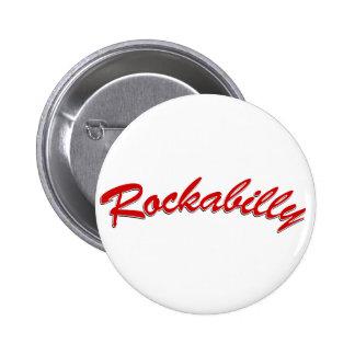Rockabilly 6 Cm Round Badge