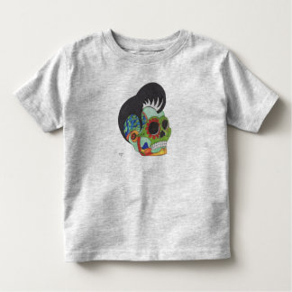Rockabilly Day of the Dead Toddler T-Shirt
