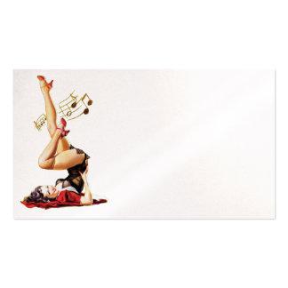 Rockabilly Goddess II Pack Of Standard Business Cards
