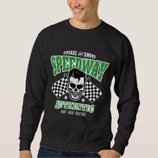 Rockabilly Hot Rod Racer Skull Sweatshirt