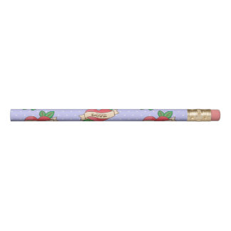 Rockabilly, Polka dot, Tattoo Cute Pencil