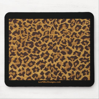 Rockabilly rab Leopard Print Gifts Collectibles Mouse Pads