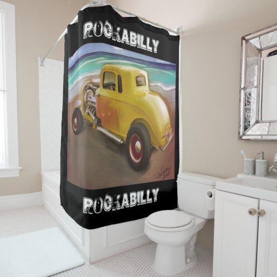 RockABilly Shower Curtain