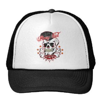 Rockabilly Skull Cap